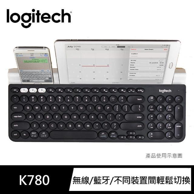 【Logitech 羅技】K780跨平台藍牙鍵盤