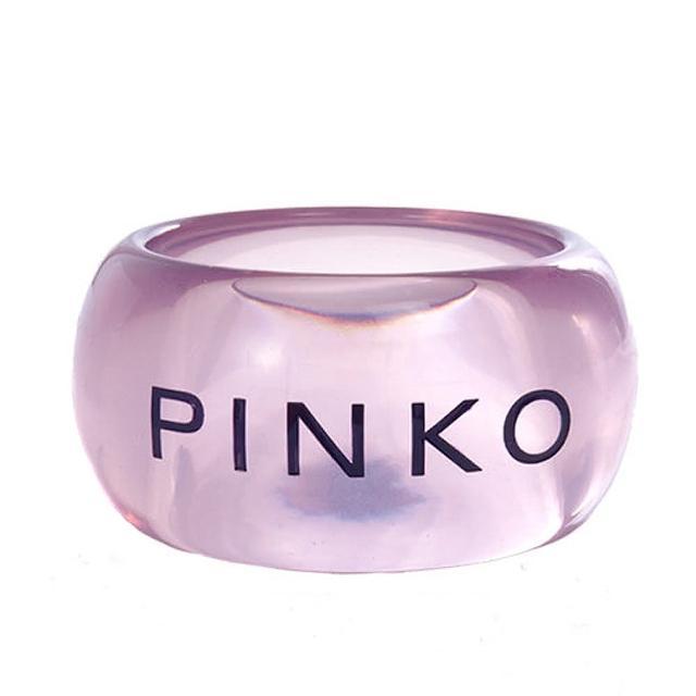 【PINKO】紫色透明 LOGO 手環(b001ac blue crystal)