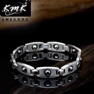 【KMK鈦鍺精品】潛能星球(純鈦+磁鍺健康手鍊)