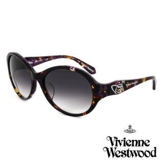 【Vivienne Westwood】英國精品時尚造型太陽眼鏡(VW78602-琥珀)