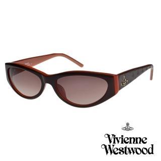 【Vivienne Westwood】英國精品時尚造型太陽眼鏡(VW62203-咖啡色)