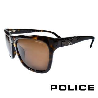 ~POLICE~義大利警察都會款 型男眼鏡膠框 琥珀 POS1895~722P