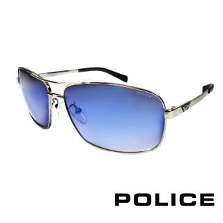 ~POLICE~義大利警察都會款 型男眼鏡~金屬框 黑色 POS8879~579B