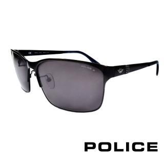 ~POLICE~義大利警察都會款 型男眼鏡~金屬框 黑色 POS8875~531P