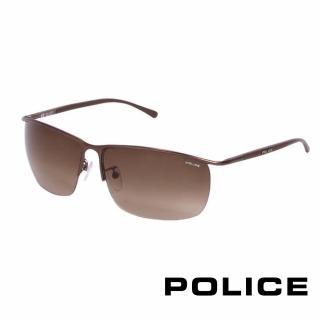 ~POLICE~都會復古飛行員太陽眼鏡 古銅色 POS8693~K03K