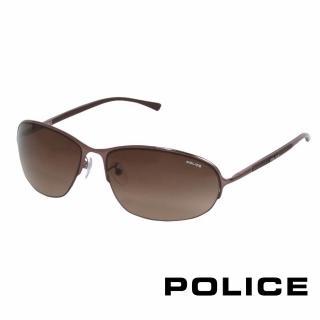 ~POLICE~都會復古飛行員太陽眼鏡 古銅色 POS8692~0K01
