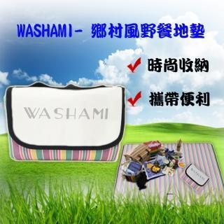 【WASHAMl】鄉村風野餐地墊-防潮墊-遊戲墊(150x200CM)
