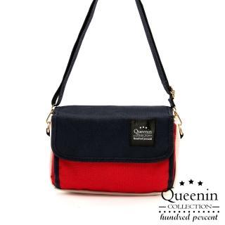 【DF Queenin日韓】日本手機可觸控隨身側背包(共4色)