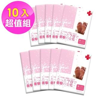 【Dr.Foot】醫美專用杏仁牛奶酸 2D足膜(10入)