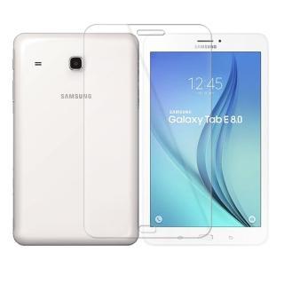 【Metal-Slim】SAMSUNG TAB E8.0 LTE(9H弧邊耐磨防指紋鋼化玻璃保護貼)