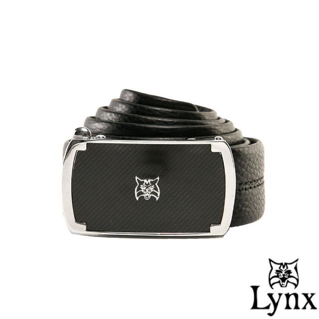 【Lynx】山貓城市系列魅力款自動扣真皮皮帶