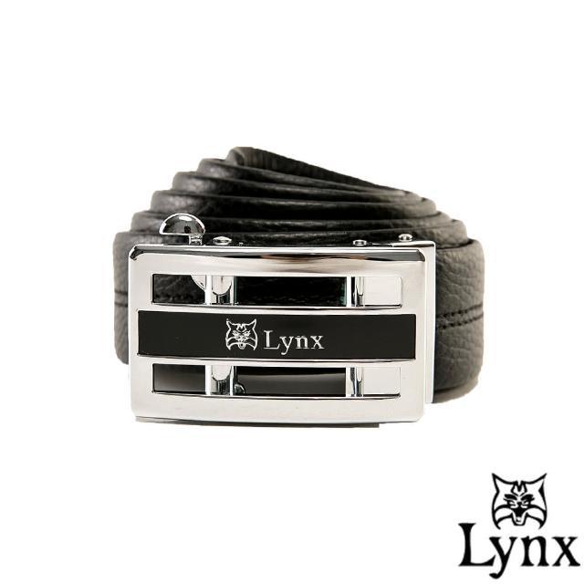 【Lynx】山貓城市系列紳士款自動扣真皮皮帶