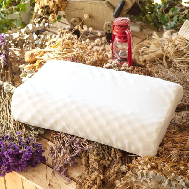 【LAMINA】波浪按摩乳膠枕-1入