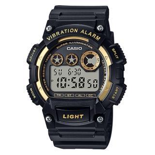 【CASIO】數位震動提示電子錶(W-735H-1A2)