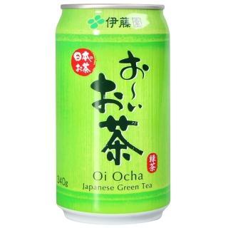 【伊藤園】綠茶340-易開罐(340ml)