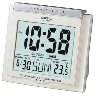 【CASIO】方形大字幕數位鬧鐘(DQ-750F-7)