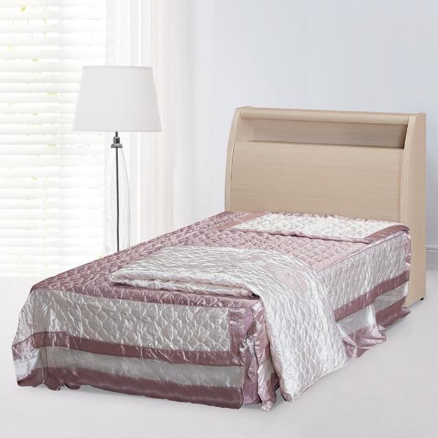 【時尚屋】龍達3.5尺加大單人床5U6-7-13+02352二色可選(加大單人床 床架 臥室)