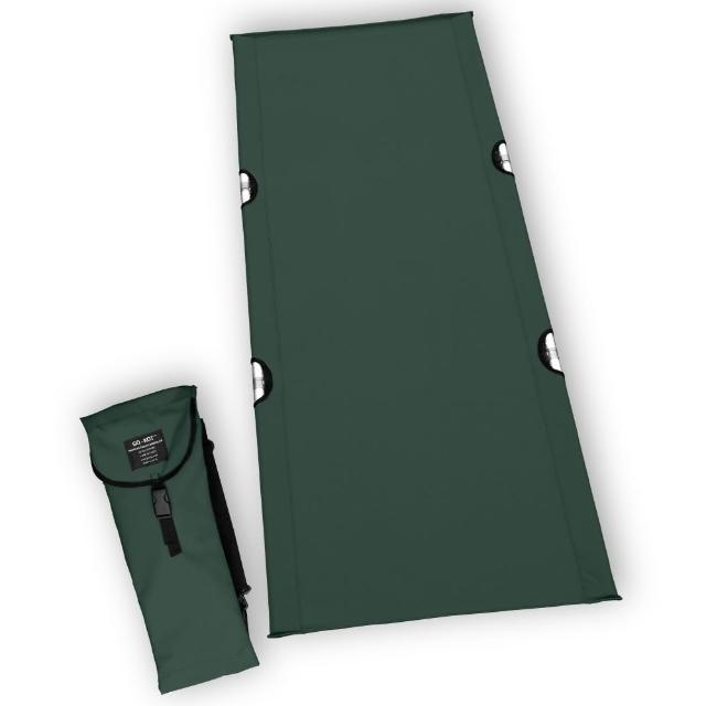 【GO-KOT】加大版行軍床「森林綠」(美國製造)