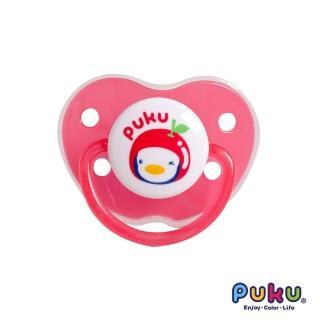 【PUKU藍色企鵝】水果拇指型初生安撫奶嘴(粉色)