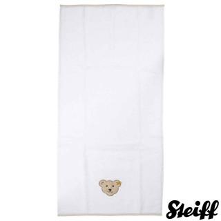 【STEIFF德國嬰幼兒用品】嬰幼兒  長浴巾(嬰幼兒毛巾/浴巾)