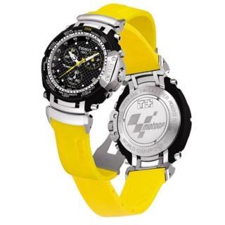 【TISSOT 天梭】MOTO GP 時尚三眼限量男用腕錶(42mm/T0274171720101)