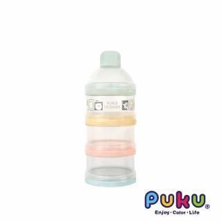 【PUKU藍色企鵝】彩色三層奶粉盒