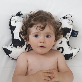 【La Millou】天使枕(台灣限定款歡樂拉拉猴-加勒比海藍-推車汽座枕寶寶護頸枕)
