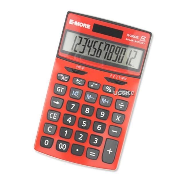 【E-MORE】K值功能桌上型計算機(JS-200GTK)