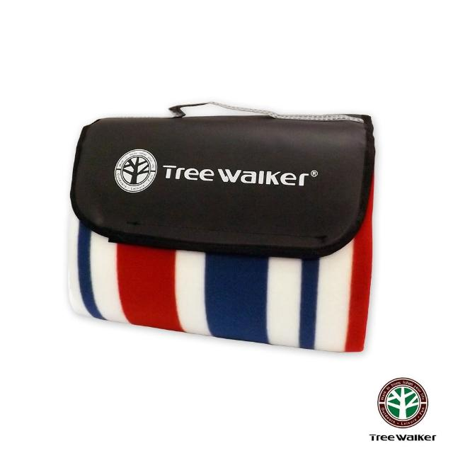 【Tree Walker】方款手提式時尚植絨露營墊(124003-5)