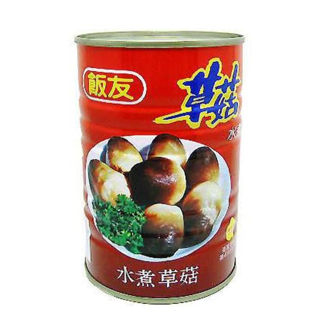 【飯友】水煮草菇(425g)