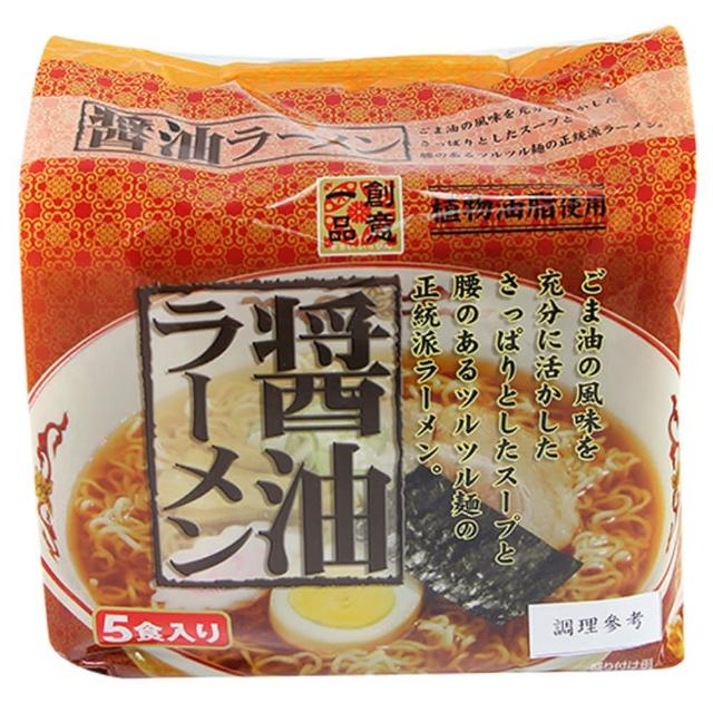 【日本 創意一品】醬油拉麵88gx5P