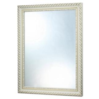【HOMAX】H324白色藝術木框鏡