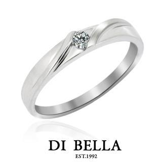 【DI BELLA】Everything 真鑽情人戒指(男款)