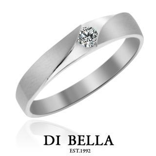 【DI BELLA】Sunshine 真鑽情人戒指(女款)