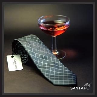 【SANTAFE】韓國進口中窄版7公分流行領帶 KT-128-1601001(韓國製)