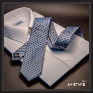 【SANTAFE】韓國進口中窄版7公分流行領帶 KT-128-1601002(韓國製)