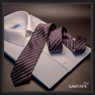 【SANTAFE】韓國進口中窄版7公分流行領帶 KT-128-1601004(韓國製)