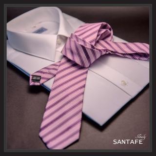 【SANTAFE】韓國進口中窄版7公分流行領帶 KT-128-1601005(韓國製)