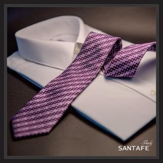 【SANTAFE】韓國進口中窄版7公分流行領帶 KT-128-1601006(韓國製)