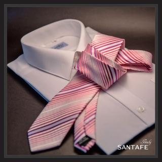 【SANTAFE】韓國進口中窄版7公分流行領帶 KT-128-1601010(韓國製)
