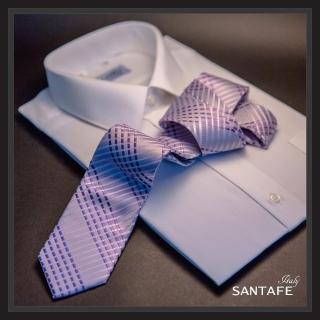 【SANTAFE】韓國進口中窄版7公分流行領帶 KT-128-1601011(韓國製)