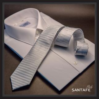 【SANTAFE】韓國進口中窄版7公分流行領帶 KT-128-1601012(韓國製)