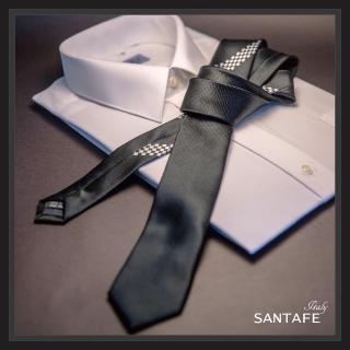 【SANTAFE】韓國進口窄版6公分流行領帶 KT-128-1601013(韓國製)