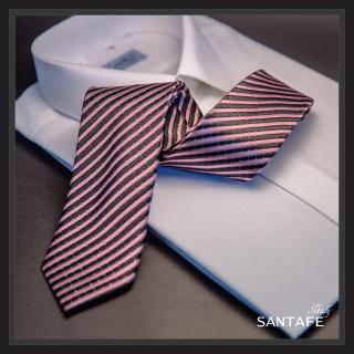 【SANTAFE】韓國進口中窄版7公分流行領帶 KT-128-1601015(韓國製)