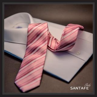 【SANTAFE】韓國進口中窄版7公分流行領帶 KT-128-1601016(韓國製)