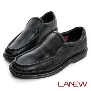 【La new】氣墊紳士鞋 懶人鞋 樂福鞋(男222035438)
