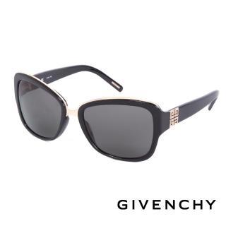 ~GIVENCHY 法國魅力紀梵希~都會玩酷 太陽眼鏡 ~黑~ GISGV8270700