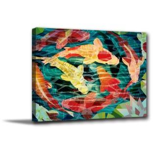 【橙品油畫布】單聯客製化掛飾掛畫畫框油畫無框畫藝術30x40cm(1384165)