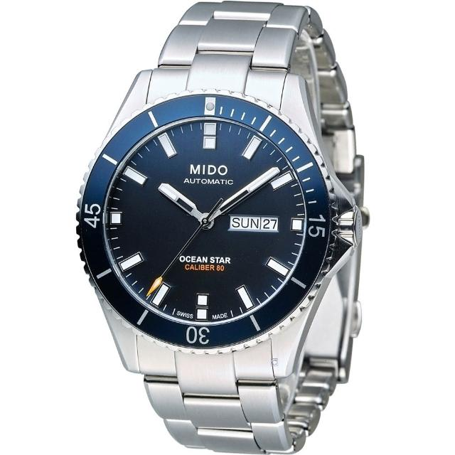【MIDO】Ocean Star Captain 海洋之星機械潛水錶(M0264301104100)