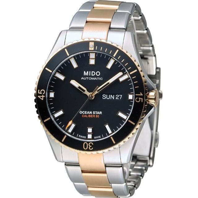 【MIDO】Ocean Star Captain 海洋之星機械潛水錶(M0264302205100)